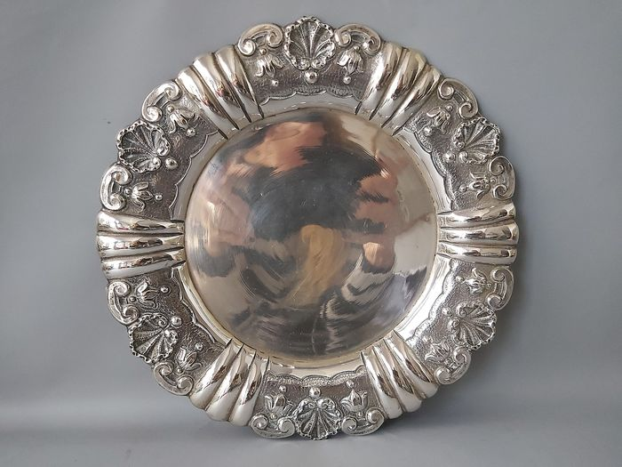 Tray - Silver - Portugal - Early 20th century