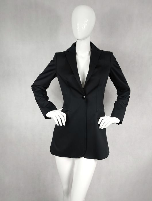 Versace Jeans Couture - Long Blazer - Taille: UE 40 (IT 44 - ES/FR 40 - DE/NL 38)