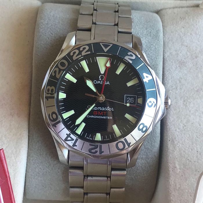 Omega - Seamaster 50 year GMT 'NO RESERVE PRICE''box in papers - 22345000 - Men - 1990-1999