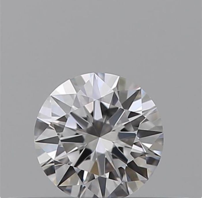 1 pcs Diamond - 0.50 ct - Brilliant - F - IF (flawless)
