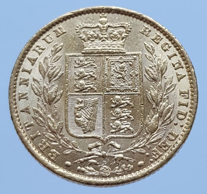Royaume-Uni - Sovereign 1861 Victoria - Or