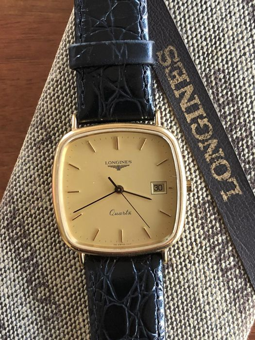 "Longines - Classic 18K Solid Gold - ""NO RESERVE PRICE"" - Ref: 7167 156 - Men - 1970-1979"