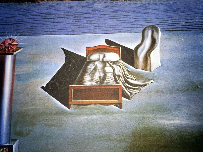Salvador Dalí (After) - Surrealist Composition with Invisible Figures
