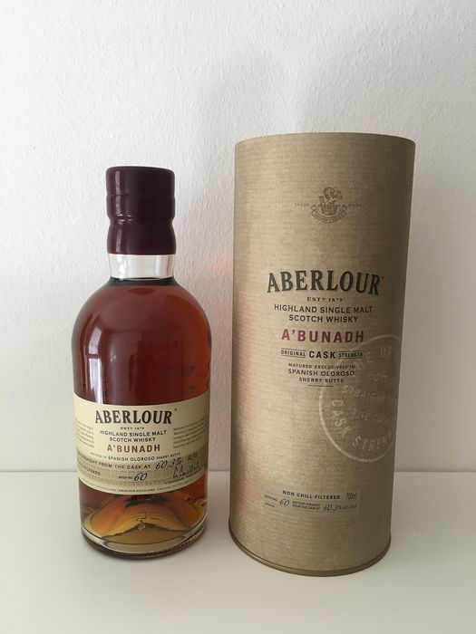 Aberlour A'Bunadh #60 - Original bottling - 700ml