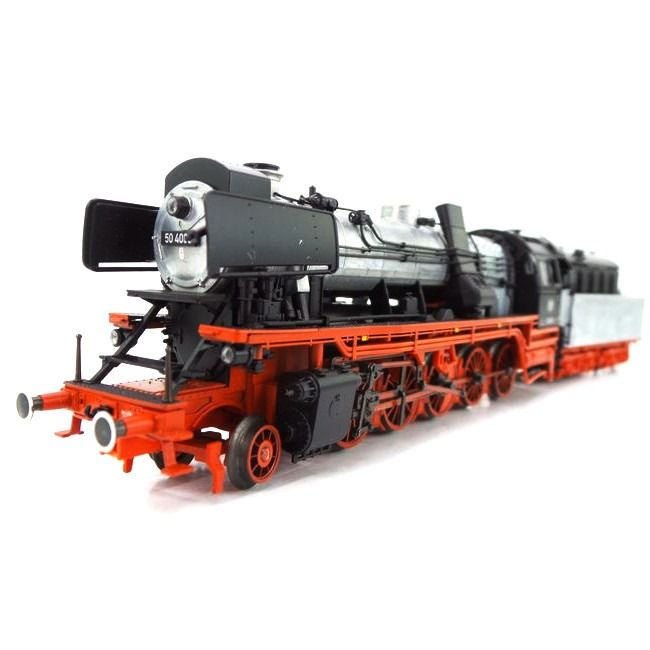 "Märklin H0 - 37049 - Steam locomotive with tender - BR50 ""Franco Crosti"" - DB"