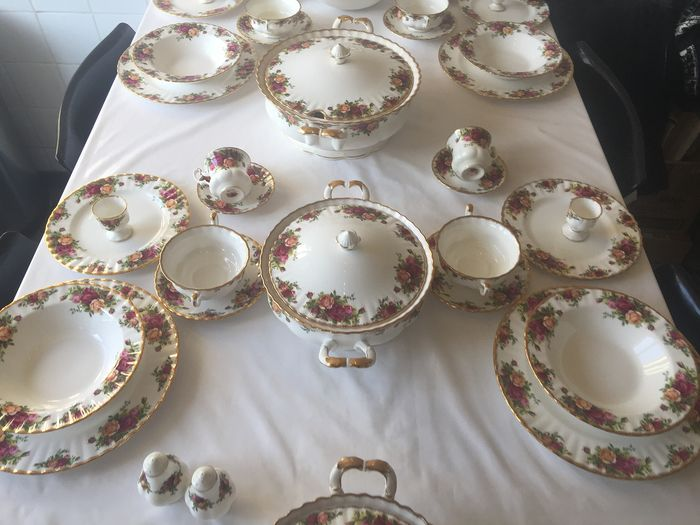 Royal Albert Country roses - Royal Albert servies  (60) - 现代的