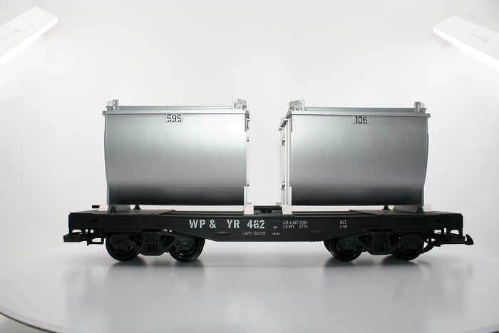 LGB G - 4086 - Freight carriage - Goods transport - WP & YR