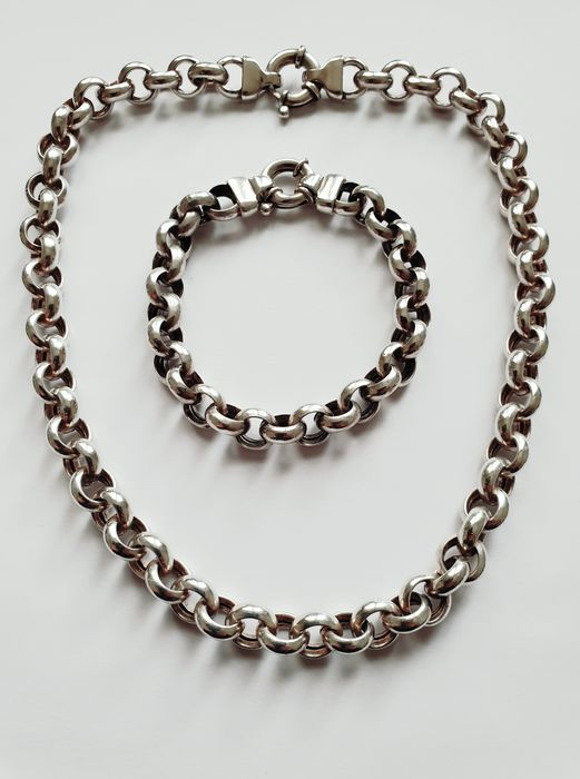 925 Silver - Bracelet, Necklace