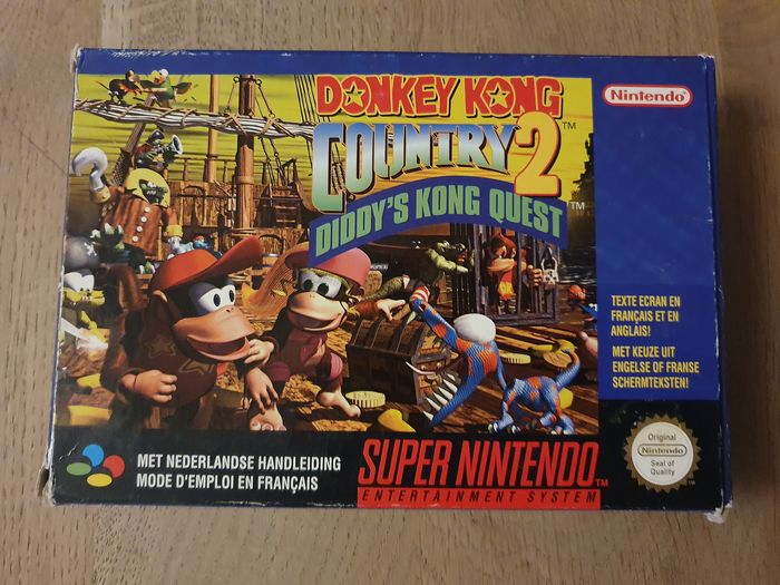 Nintendo Snes Donkey Kong Country 2 boxed - Video games (1)