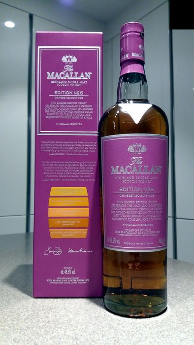 Macallan Edition No 5 - Original bottling - b. 2019 - 70cl