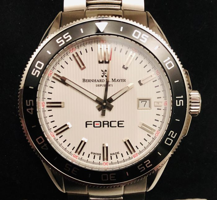 "Bernhard H. Mayer - ""Force"" - 41701. 684.6 - Uomo - 2011-presente"