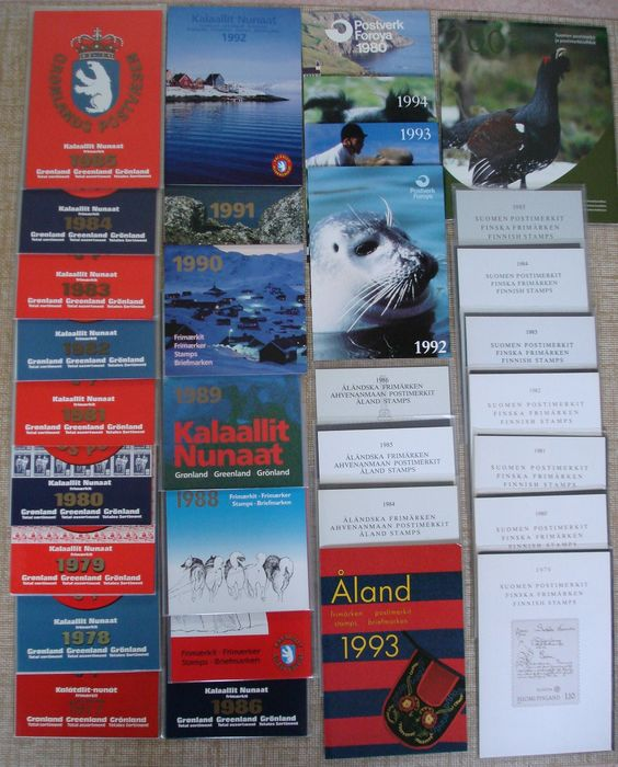 Nord-Europa 1977/2003 - 32 official year collections