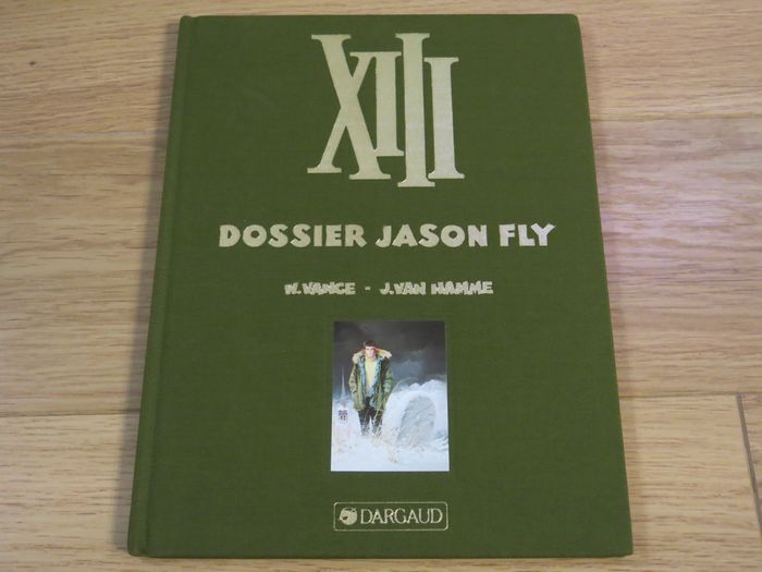 XIII - luxe 6 Dossier Jason Fly Nr. HC 18/50 - First print of a reissue - (1994)