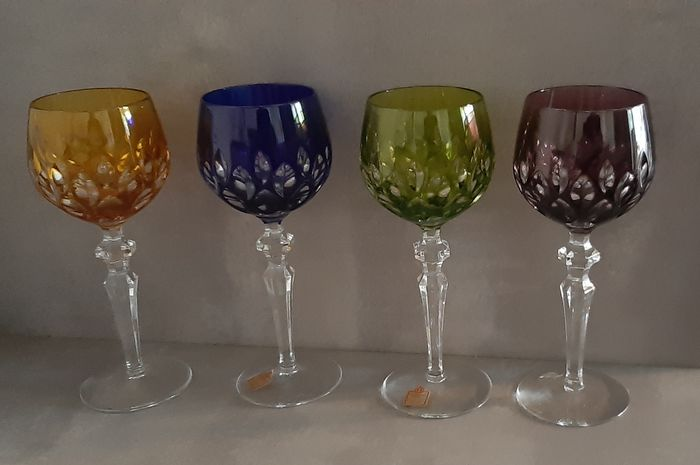 Katharinen Hutte - Wine glasses (4) - Crystal