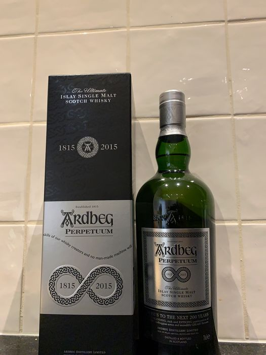 Ardbeg Perpetuum - 200 Years of Ardbeg - Original bottling - 700ml