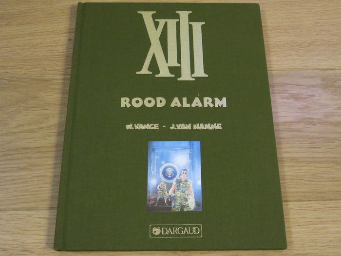 XIII - luxe 5 Rood alarm Nr. HC 15/50 - First print of a reissue - (1994)