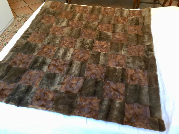 covered bedspread (1) - mink fur - Current