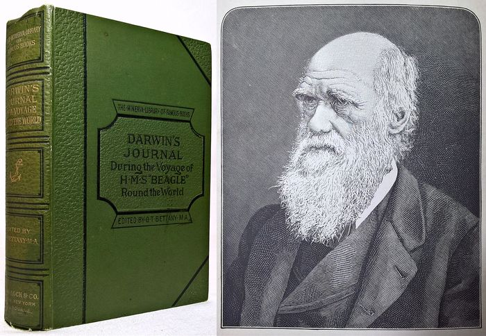 "Charles Darwin, M.A., F.R.S. - Journal of Researches into the Natural History and Geology during the Voyage of H.M.S. ""Beagle"" - 1890"