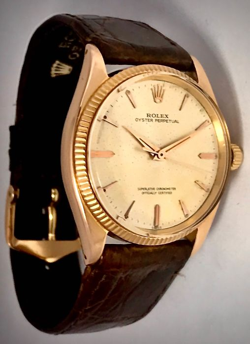 Rolex - Oyster Perpetual - 1505 - Unisex - 1960-1969