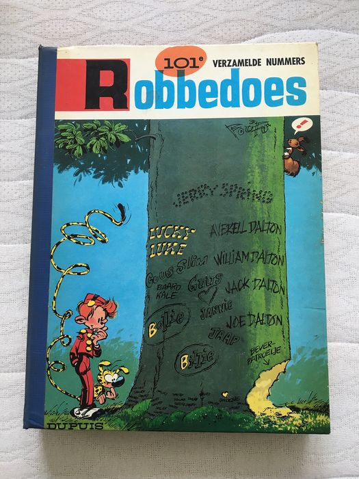 Robbedoes (magazine) - Robbedoes album nr. 101 - Hardcover - First edition - (1966)