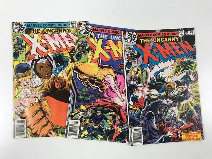 X-Men (Vol.1 1963) #117, #118, #119(NM) - (i-AMF Top Collection) - First edition