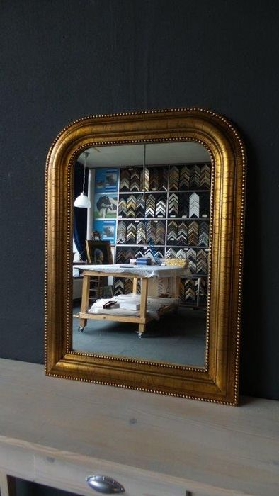 Archmirror gold crackle