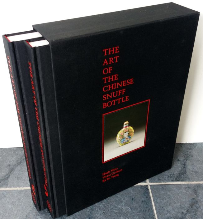 Hugh Moss, etc .. - The Art of the Chinese Snuff Bottle - 2 Volumes - 1993