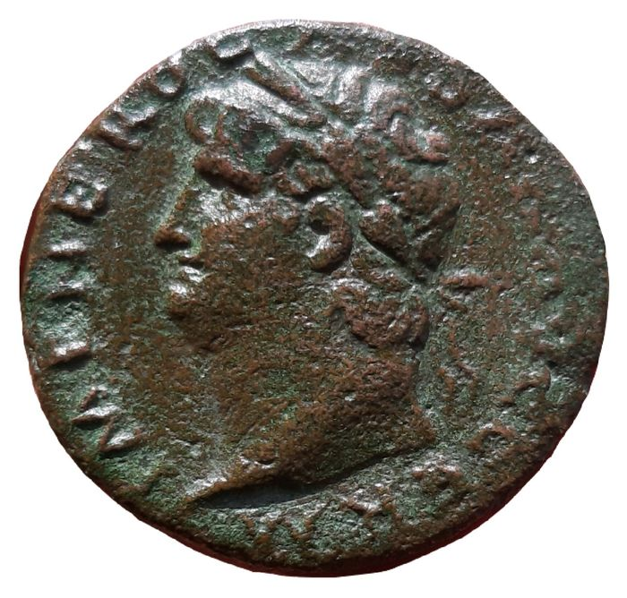 Roman Empire - Æ As, Nero (AD 54-68) - Victory flying - RIC I 352