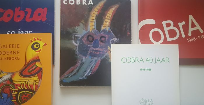 CoBra - Lot with 5 books - 1982/1993