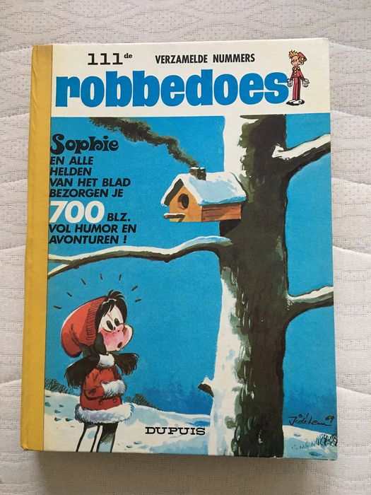 Robbedoes (magazine) - Robbedoes album nr. 111 - Hardcover - First edition - (1969)