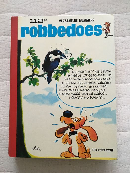 Robbedoes (magazine) - Robbedoes album nr. 112 - Hardcover - First edition - (1969)