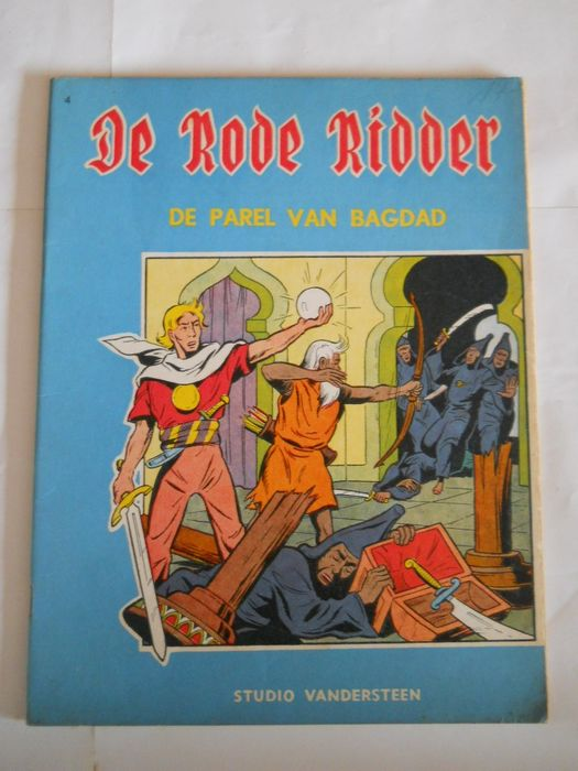 De Rode Ridder 4 - De parel van Bagdad - Stapled - First edition - (1960)