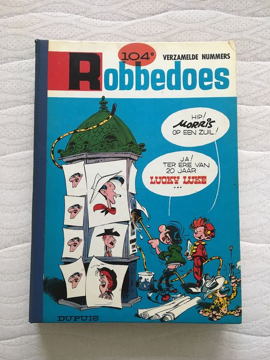 Robbedoes (magazine) - Robbedoes album nr. 104 - Hardcover - First edition - (1967)