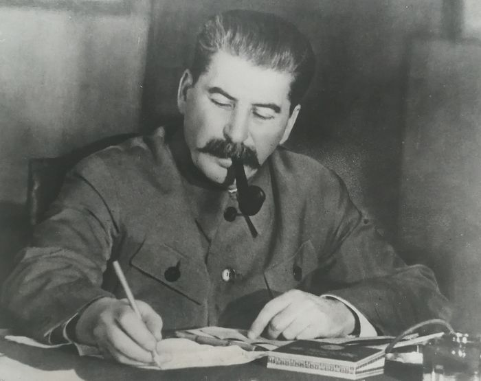 Unknow/Associated Press Photo/Sovfoto - Joseph Stalin at his desk, Kremlin, Moscow, 1935