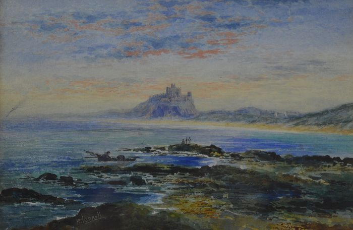 William Connell (19th century) - Bamburgh Castle, Northumberland, UK