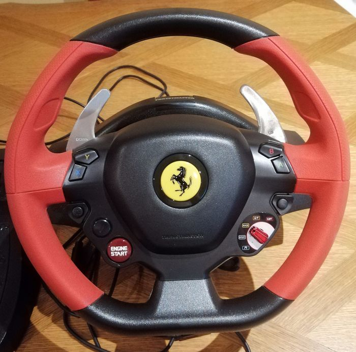 Thrustmaster Ferrari 458 Spider Racing Wheel Wheel Racing Catawiki