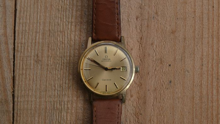 "Omega - Automatic Geneve - ""NO RESERVE PRICE"" - 1660163 - Homem - 1970-1979"