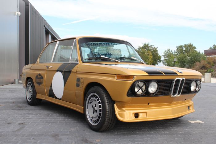 BMW - 2002 racing car (unfinished project) - 1974