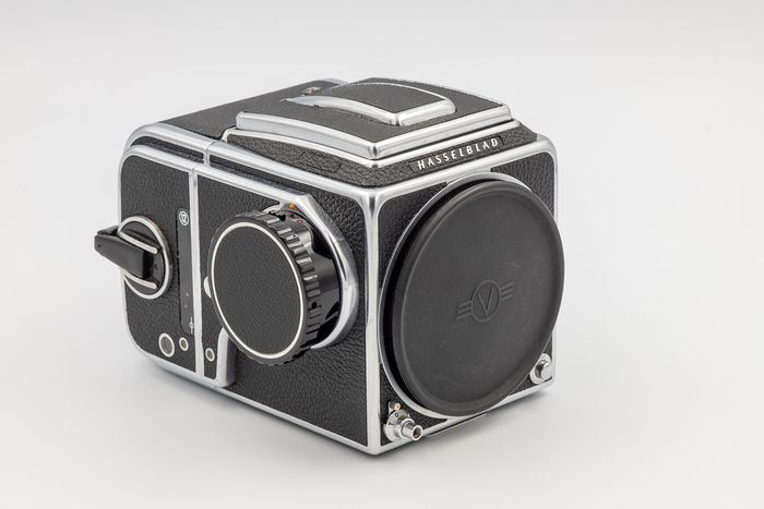 Hasselblad 503CX w/ A12 Back & Waist Level Finder