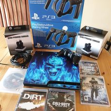 1 Sony console playstation 3 + accesories - Video games (9) - In original box
