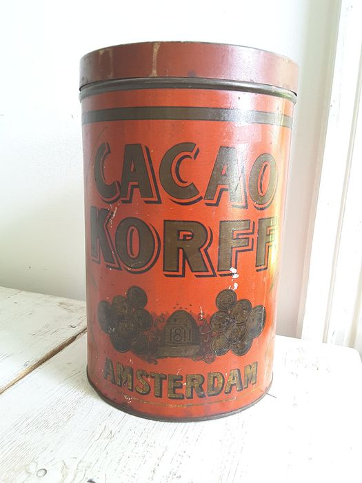 Korff Amsterdam - large cocoa can (1) - Look