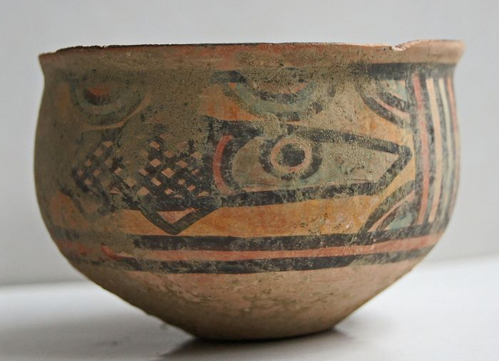 Indus Valley Ceramic Pottery  - 73×52×2 mm - (1)