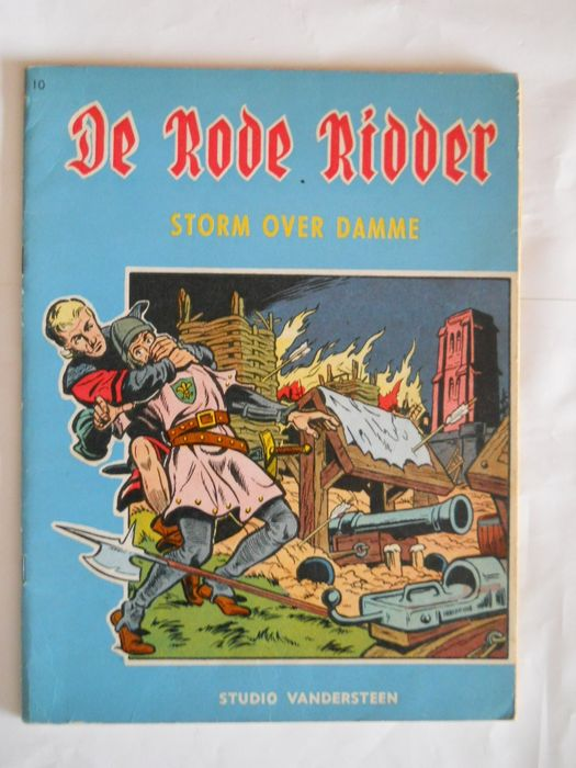 De Rode Ridder 10 - Storm over Damme - Stapled - First edition - (1962)