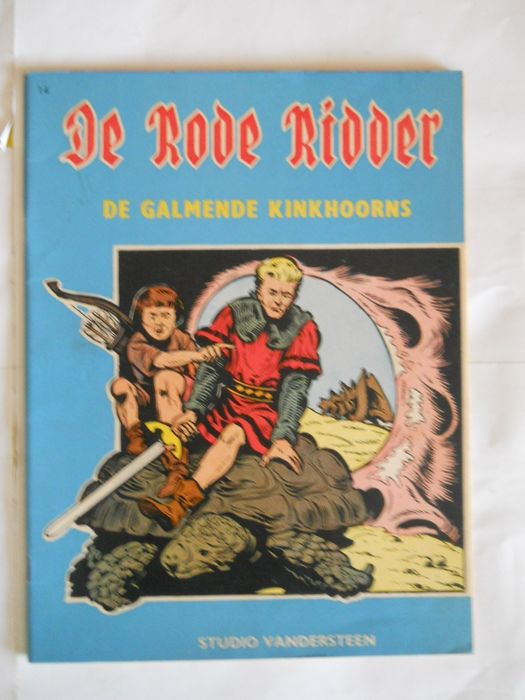De Rode Ridder 14 - De galmende kinkhoorns - Stapled - First edition - (1963)