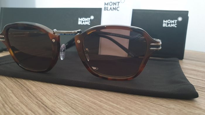 Montblanc - MB659S C47 *3 Smoke mirrored ZEISS lenses Sunglasses