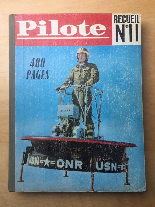 PIlote - Reliure éditeur  n°11 - Hardcover - First edition (1962)