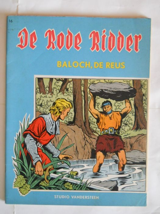 De Rode Ridder 16 - Baloch, de reus - Stapled - First edition - (1963)
