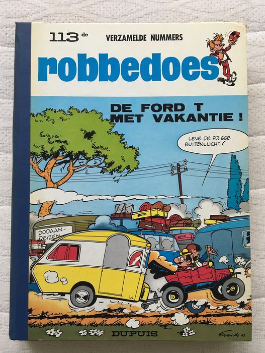 Robbedoes (magazine) - Robbedoes album nr. 113 - Hardcover - First edition - (1969)