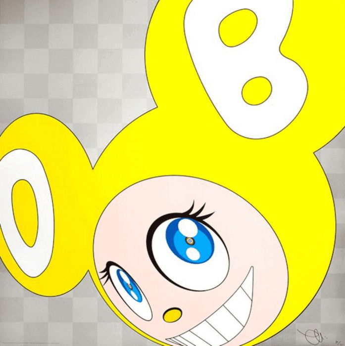 Takashi Murakami - And Then And Then And Then And Then And Then (yellow)