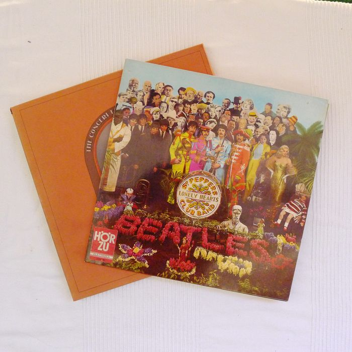 Beatles, Beatles & Related - St. Peppers Lonely Hearts Club Band / The Concert for Bangladesch - Multiple titles - 3xLP Album (Triple album), LP Album - 1973/1971